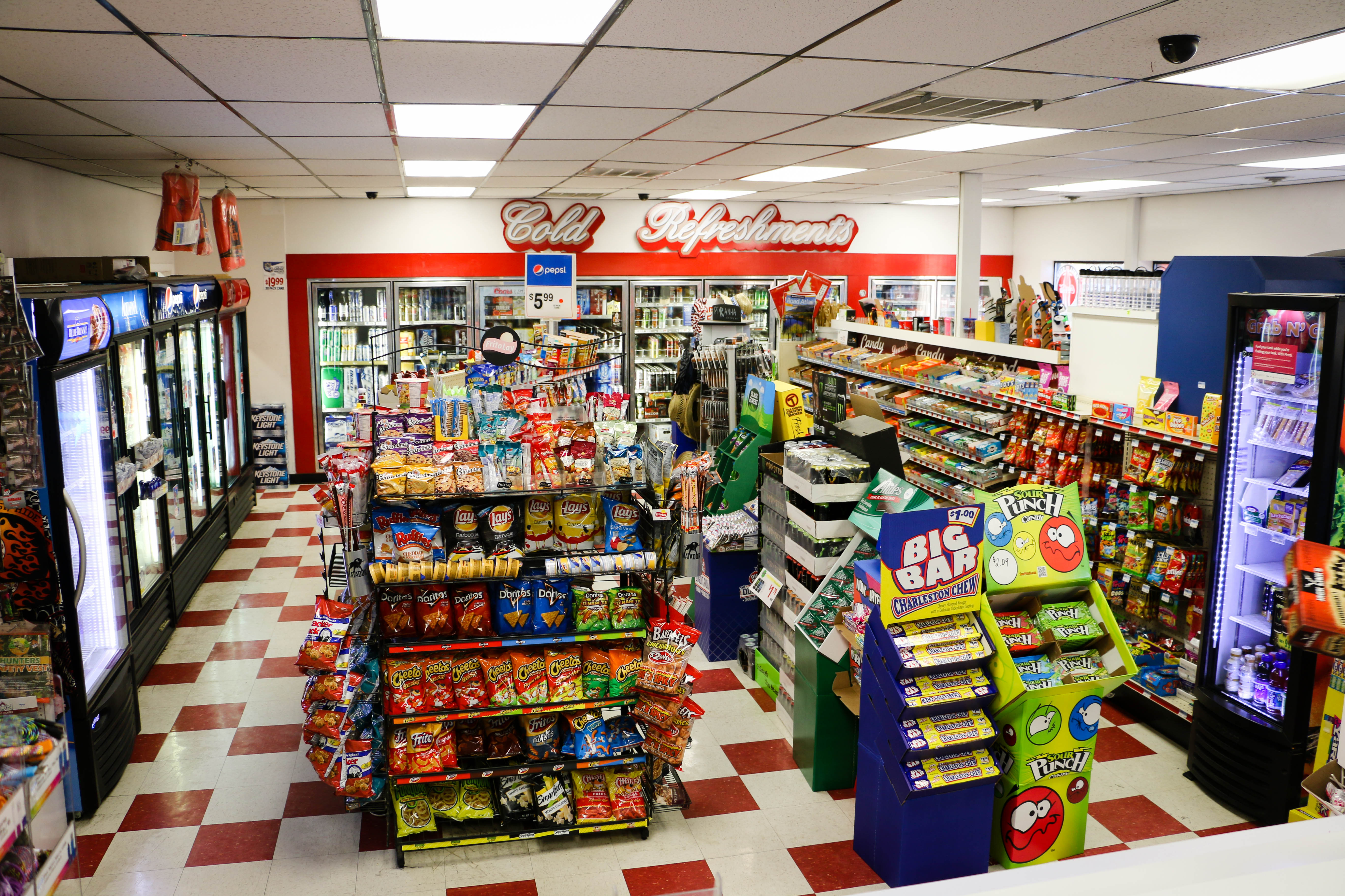 how to open convenience store in calgary